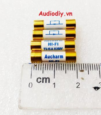 Cầu chì Aucharm 5x20 6.3A