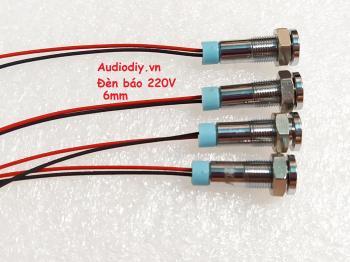 Đèn báo nguồn 220V xanh