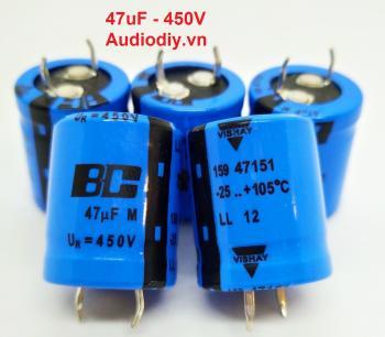 Tụ BC 47uF 450V