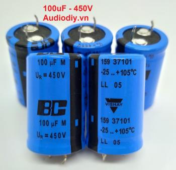 TỤ BC 100uF 450V