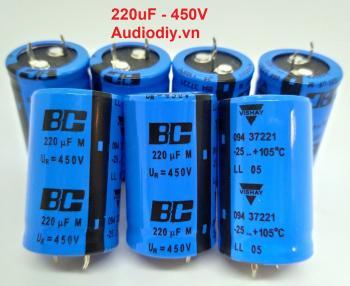 Tụ BC 220uF 450V