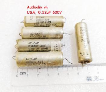 Tụ dầu USA 0.22uF 600V