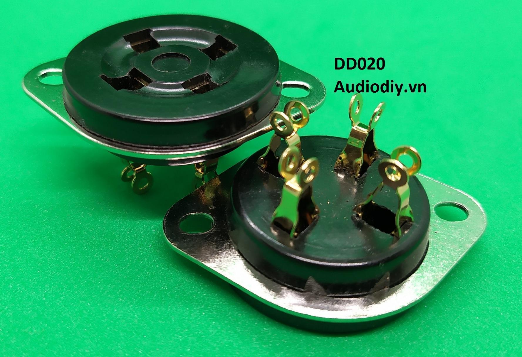 Đế đèn 300B tròn