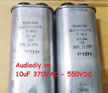 Tụ dầu CDE 10uF 550VDC