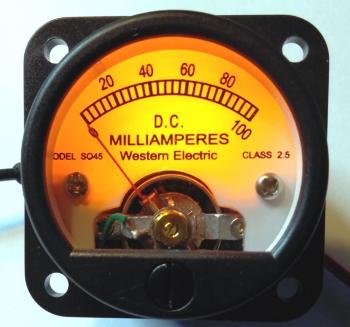 Đồng hồ WE 100mA 45