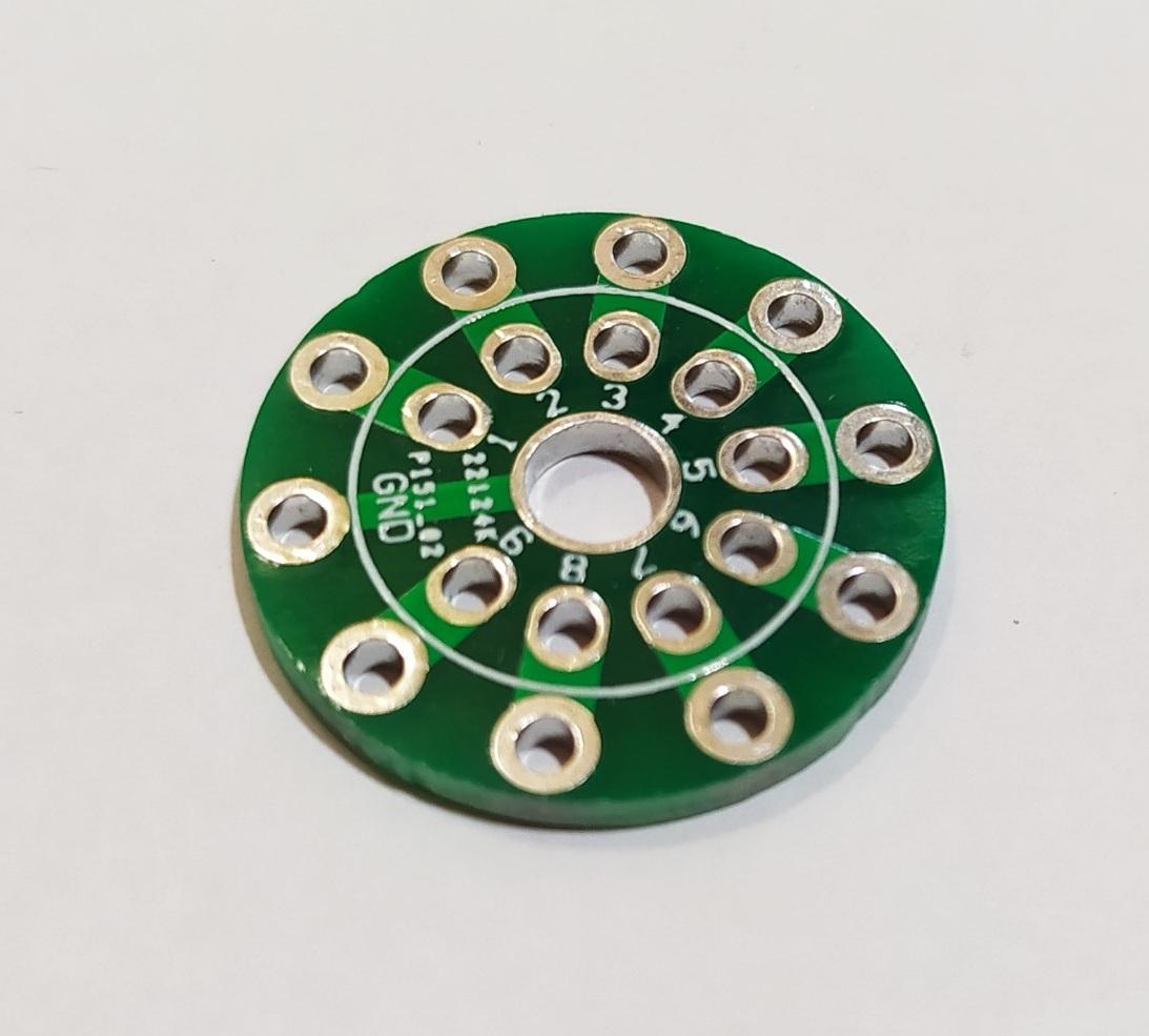PCB đế đèn 9 chân CMC