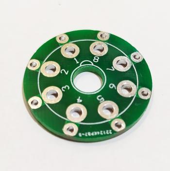 PCB đế đèn 8 chân CMC