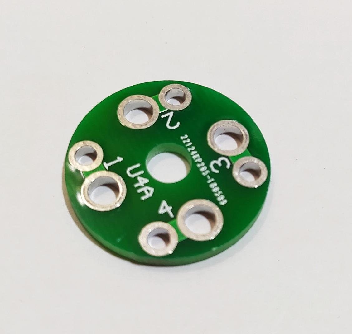 PCB đế đèn 4 chân CMC
